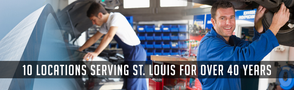 13 Locations Serving St. Louis for Over 40 Years